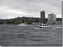 Destiny and Current Obsession on lake Washington